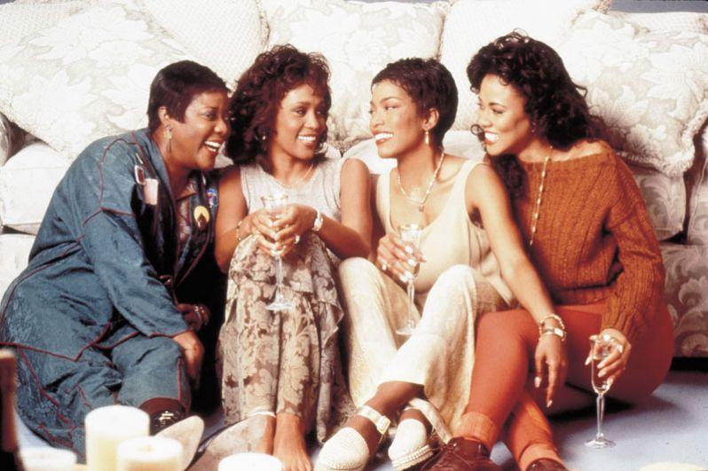 В фильме «В ожидании выдоха», 1995 год. Для этой картины Хьюстон записала три песни, включая хит «Exhale (Shoop Shoop)».