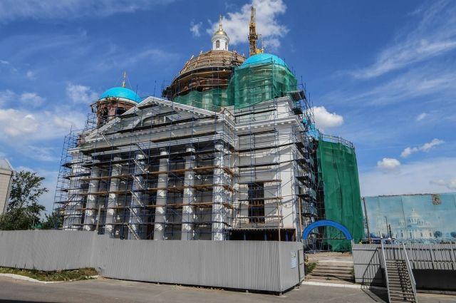 Собор в честь Казанской иконы Божией Матери сдадут не раньше 2019 года.