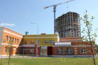Новый детсад №138. Дома нового ЖК еще не построены, а детсад есть.