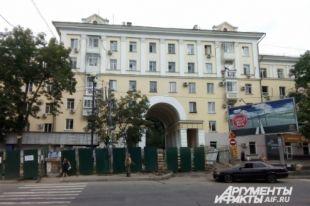 На участке Серышева между улицами Калинина - Фрунзе идёт замена теплотрассы