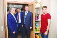 В гостях у новосёлов в домах по улице Стороженко.