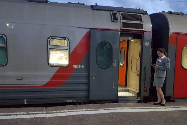 Обновлённый график пассажирского поезда будет действовать с 22 августа этого года.