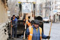 Чаще всего общественные работники заняты в сфере благоустройства города.