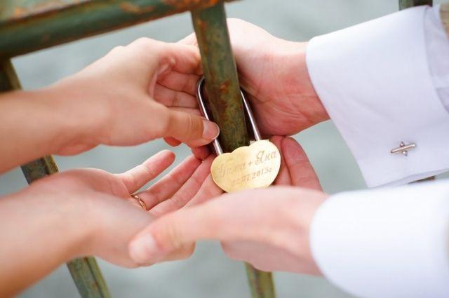 В два раза больше красноярцев решили вступить в брак в красивую дату 08.08.2018