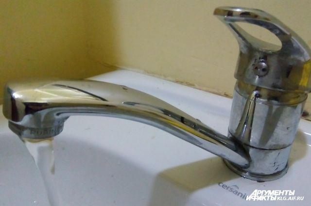 В Светлом из-за долгов за газ не могут подключить горячую воду.