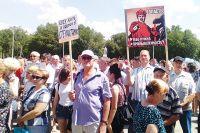 Жители Стерлитамака и работники компании пытаются через протестные акции заявить о праве на труд.