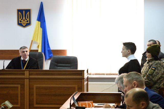 Савченко потребовала отГенпрокуратуры Украины гривну заморальный вред