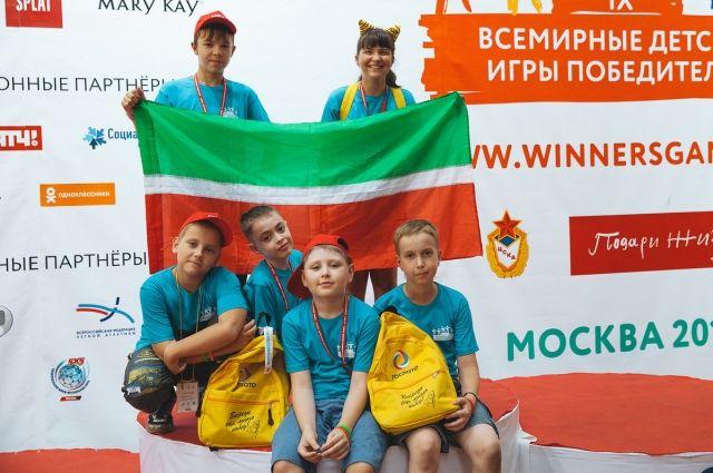 Ребята из Татарстана завоевали шесть медалей.