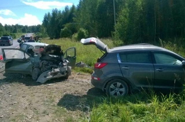 В Суздальском районе погиб водитель попавшей в ДТП легковушки.