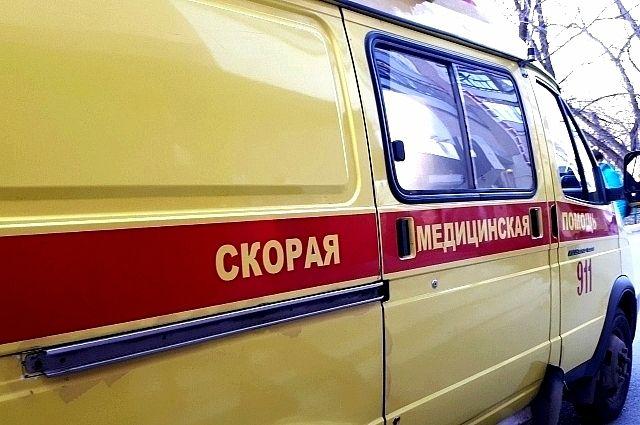 На объездной карета скорой помощи, выехавшая к месту аварии, попала в ДТП