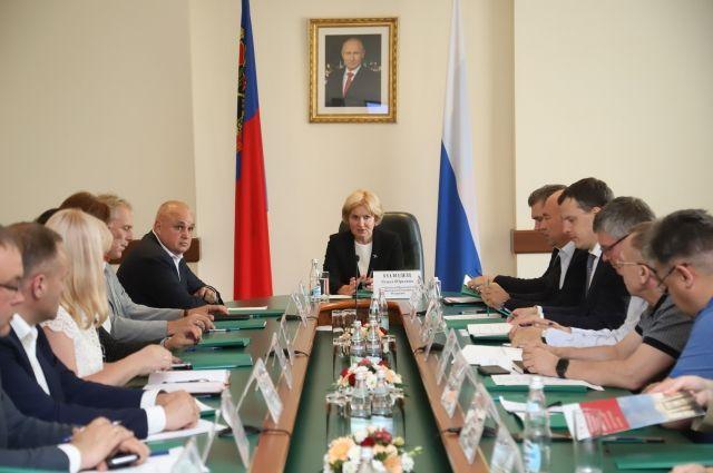В Кузбассе обсудили создание кластера искусств.