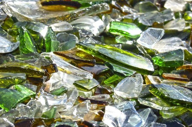 Ноябряне отправились в лес за стеклом, чтобы превратить его в посуду