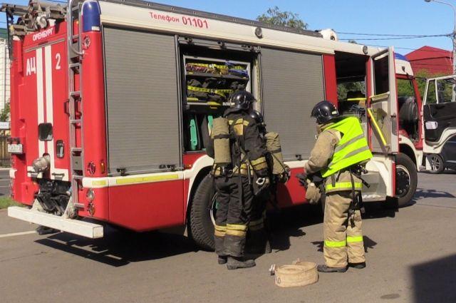 Через 15 минут пожар был потушен.