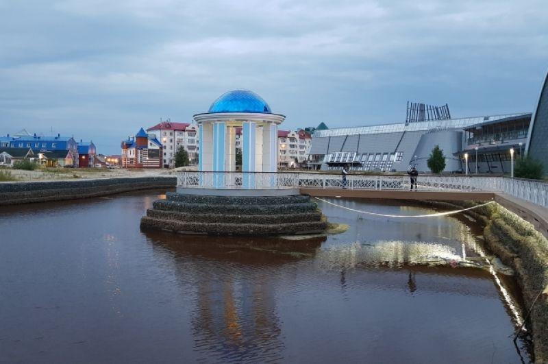 Набрежная в Белоярском находится в стадии завершения строительства. Ее обещают ввести в эксплуатация в сентябре 2018 года