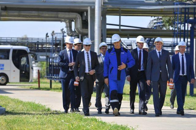 Первый заместитель министра природных ресурсов Омской области посетил Омский НПЗ.