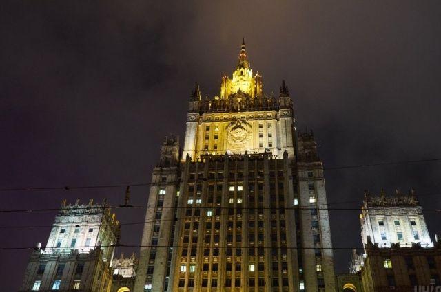 МИД России прокомментировали угрозу новых мер США из-за Украины и Сирии
