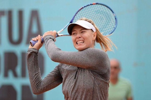 Шарапова не смогла пробиться в четвертьфинал турнира WTA