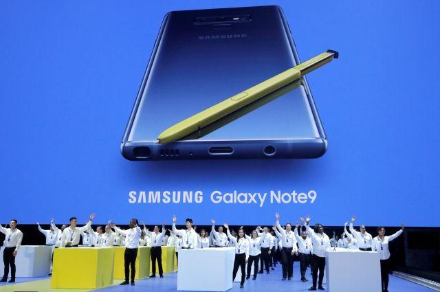 Samsung представил смартфон Galaxy Note 9