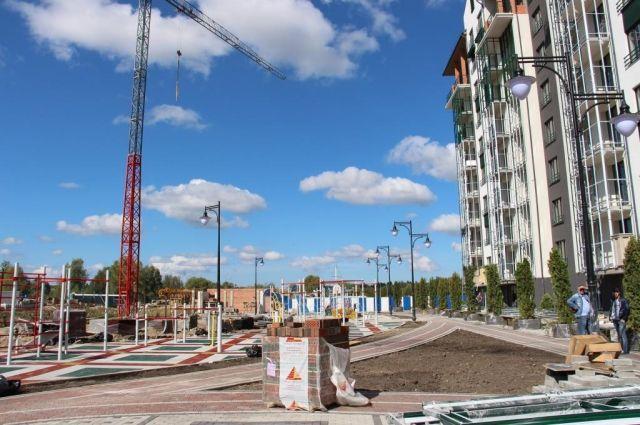 111 жилых домов введено в эксплуатацию в Калининграде за 7 месяцев.