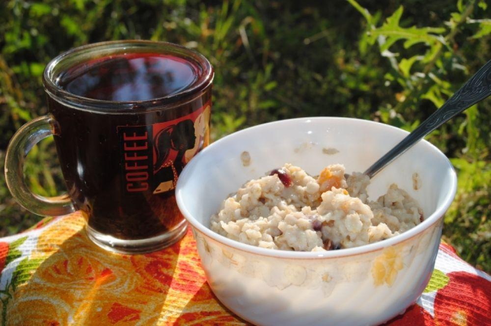 """Завтрак, который приготовят за вас, если вы обратитесь в """"Большие гонки""""."""