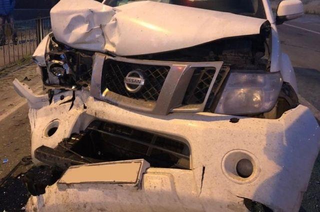 В Новом Уренгое по вине пьяного водителя пострадал человек