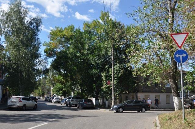 Улица Подбельского во Владимире стала односторонней.