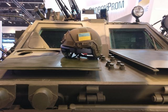 В Украине разработали шлем дополненной реальности для управления танками