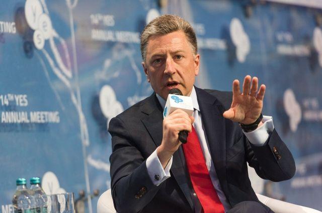 Спецпредставитель Госдепа США по Украине Курт Волкер призвал РФ обеспечить контроль границы у ОРДЛО