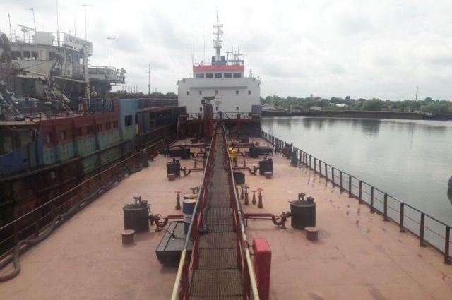 СБУ выявила в Херсоне судно компании, находящейся в списке мер СНБО