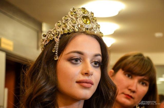 Победительница конкурса красоты «Мисс Екатеринбург - 2018» Арина Верина.