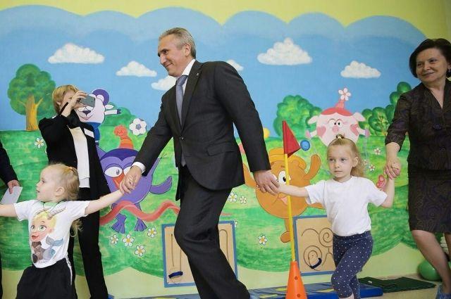 Александр Моор: «Тягу к спорту необходимо воспитывать с раннего детства»