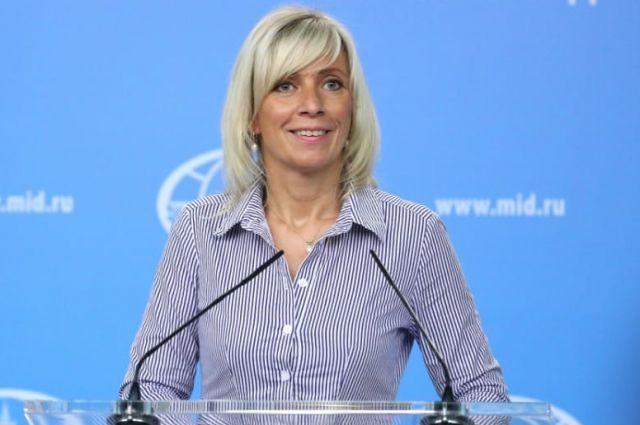 Захарова поведала сербам, как Крым стал поводом для санкций против Российской Федерации