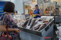 Горбуша по цене почти в 130 рублей закончилась к 11 часам.