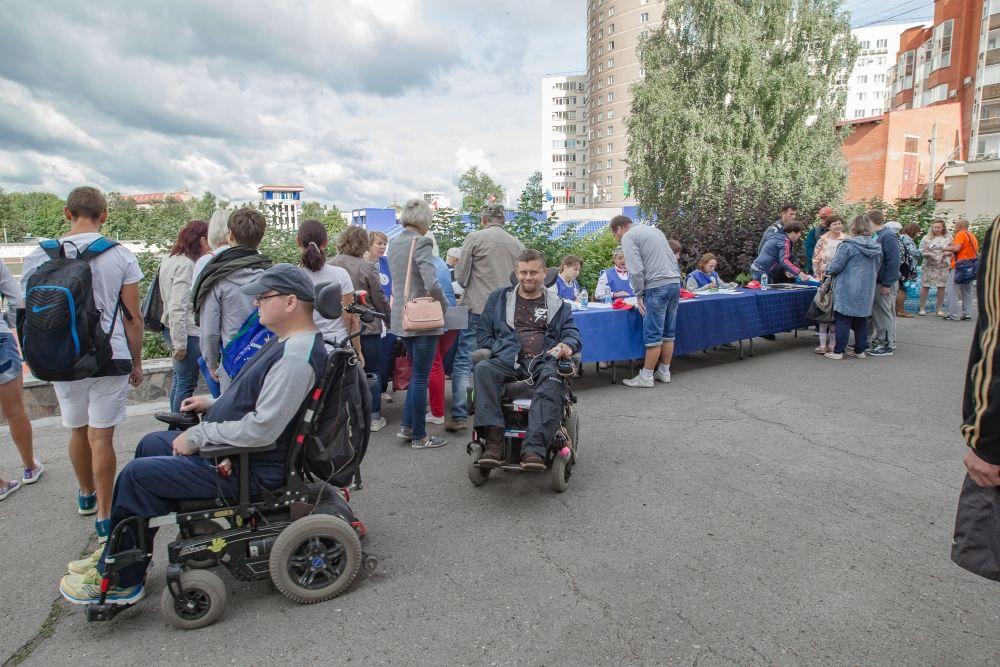 """Парафестиваль прошёл на стадионе """"Динамо""""."""