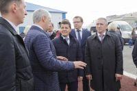 В Ноябрьске с рабочим визитов находится Александр Моор