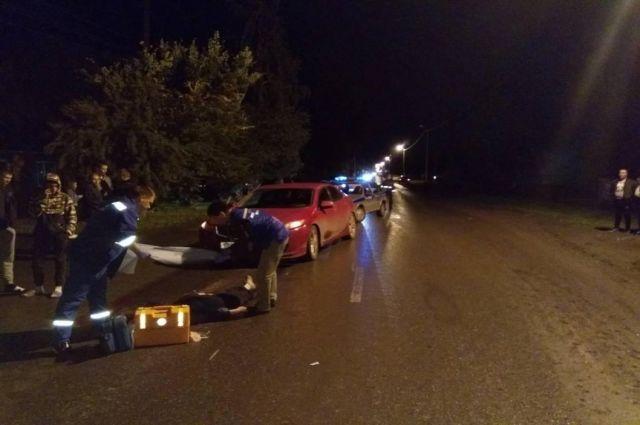 На дорогах Тюменской области погибли два пешехода