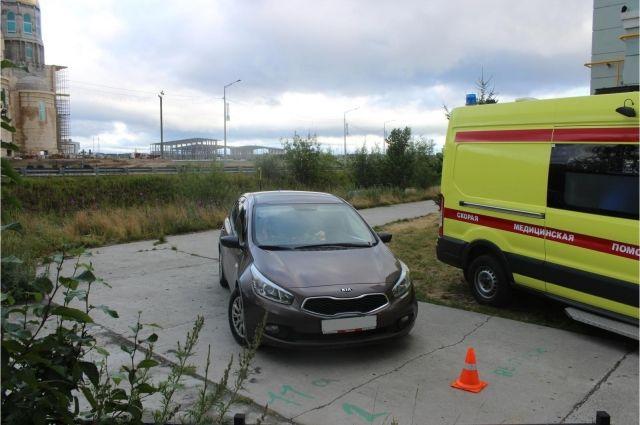 В Салехарде пьяный водитель сбил пожилую женщину