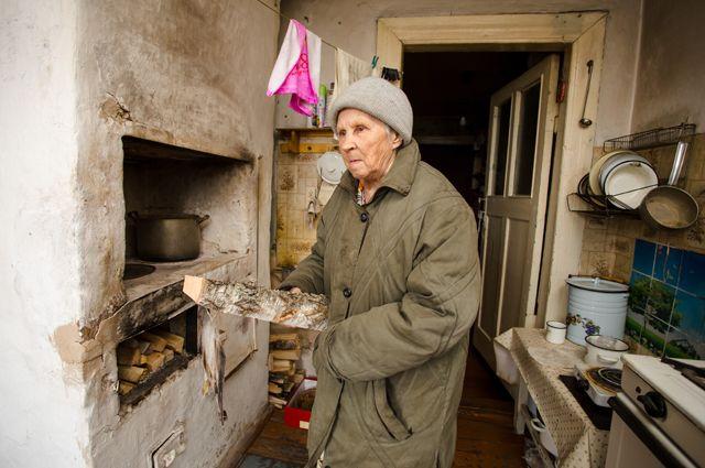 У пенсионеров нет денег, чтобы платить ипотеку.