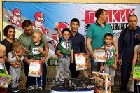 В Тобольске 156 детей состязались в «Гонках на толокарах»