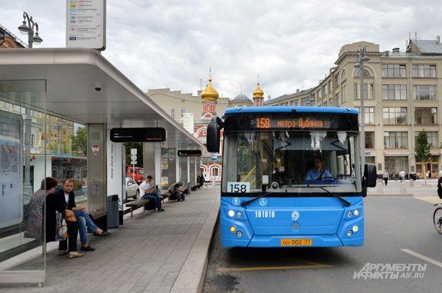 С1сентября наземный транспорт в столице России будет бестурникетным