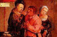 «Фермер у дантиста», художник Иоганн Лисс.