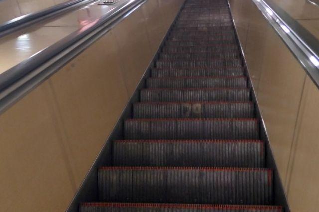 Чистить обувь либо ступени: петербургское метро поведало опредназначении щеток наэскалаторах