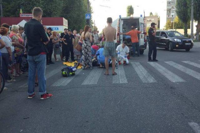 Смертельная авария в Кременчуге: столкнулись мотоцикл и легковой автомобиль