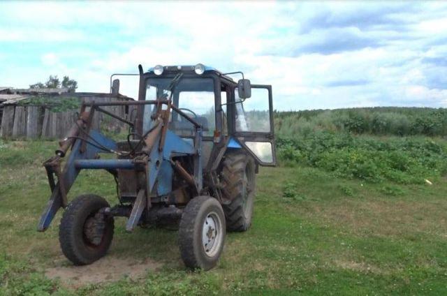 Сельхозтехника под арестом и может быть продана, если фермер не погасит долг