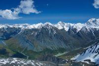 В этих алтайских горах кузбассовцы оказались в плену.