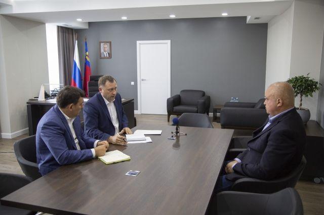 Сергей Цивилев провел встречу с Андреем Шарниным и Сергеем Кузнецовым.