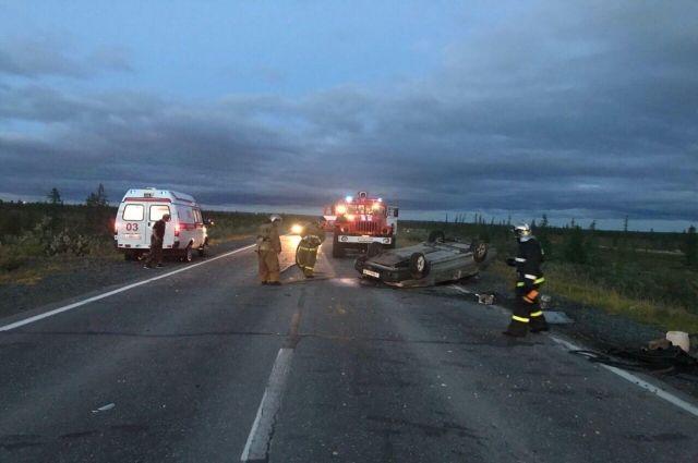 В ДТП на трассе Лабытнанги-Харп пострадал человек