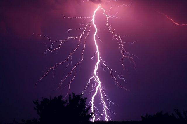 Под Тюменью от удара молнии погиб шестилетний ребенок