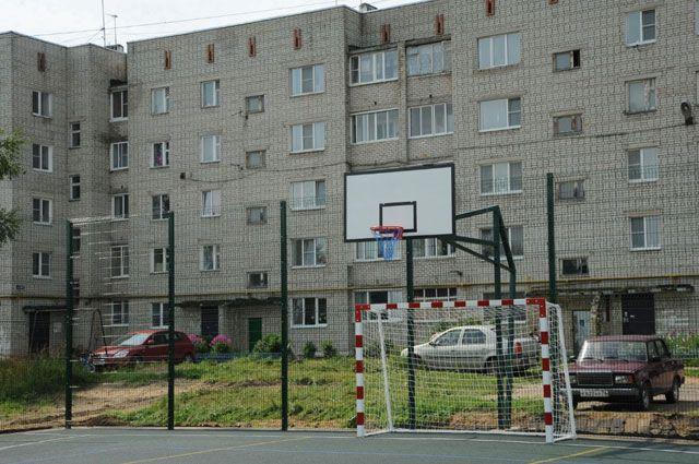 В Семибратове построена новая спортивная площадка.