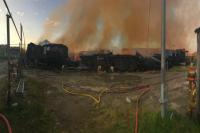Пострадавшим от пожара в Газ-Сале выплатили материальную помощь